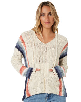 BEIGE WOMENS CLOTHING RIP CURL KNITS + CARDIGANS - GSWHE10001