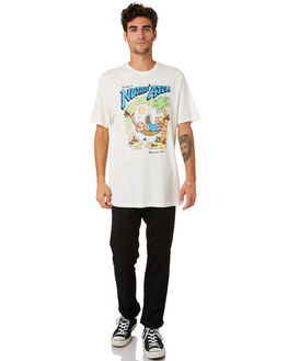 PAINT WHITE MENS CLOTHING VOLCOM TEES - A5001975PNT