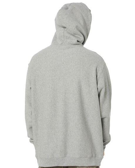 TRUE GREY MARLE MENS CLOTHING STUSSY JUMPERS - ST001200TRGRM