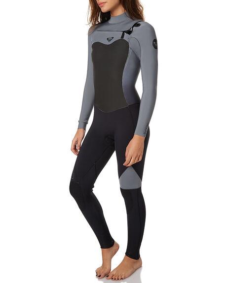 bb240415b6 TRUE BLACK SURF WETSUITS ROXY STEAMERS - ERJW103011TRBLK