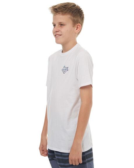 WHITE KIDS BOYS SWELL TEES - S3171001WHT