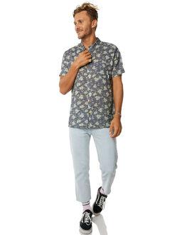 NAVY MENS CLOTHING STUSSY SHIRTS - ST073413NVY