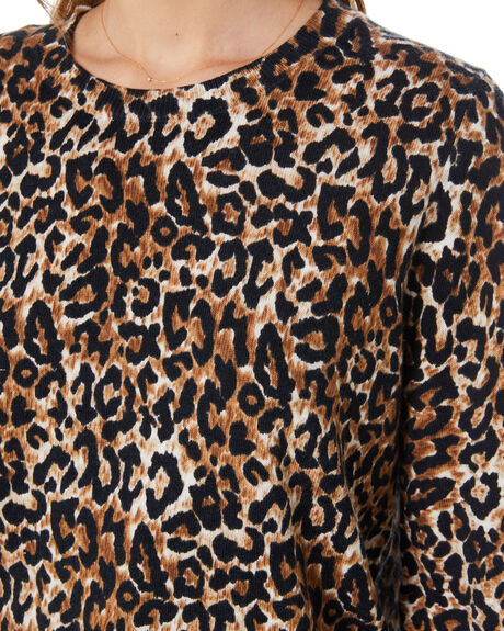 LEOPARD OUTLET WOMENS TIGERLILY KNITS + CARDIGANS - T305140LEO