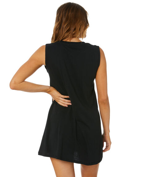 BLACK WOMENS CLOTHING RIP CURL DRESSES - GDRHT10090