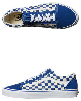 TRUE BLUE WHITE MENS FOOTWEAR VANS SNEAKERS - VNA38G1POUBLU