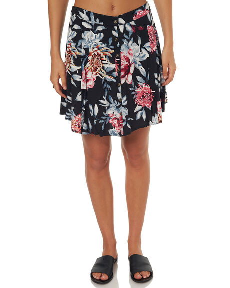BLACK WOMENS CLOTHING RIP CURL SKIRTS - GSKCW10090