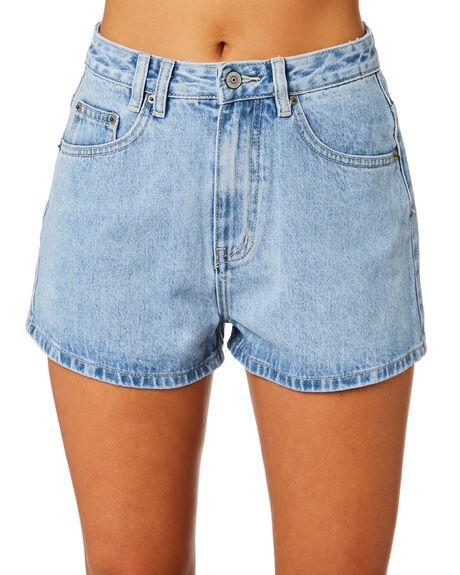 SLATE BLUE WOMENS CLOTHING INSIGHT SHORTS - 1000078025SLBLU