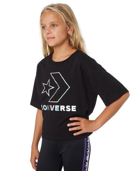 BLACK KIDS GIRLS CONVERSE TOPS - R468987023