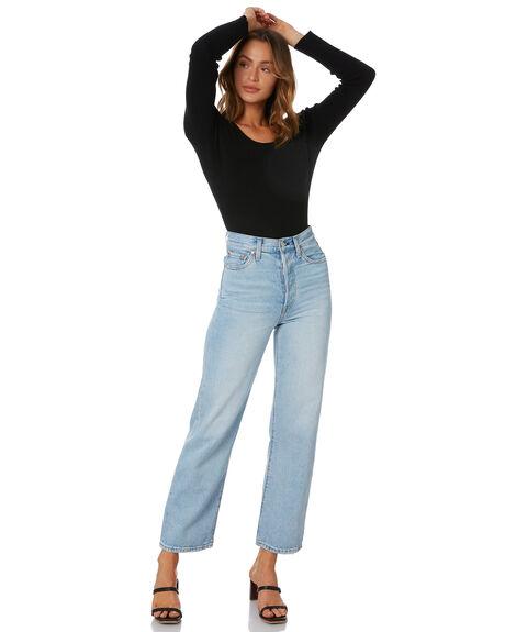BLACK WOMENS CLOTHING SNDYS FASHION TOPS - SEB016BLK