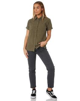 RIFLE GREEN WOMENS CLOTHING RUSTY FASHION TOPS - WSL0610RFG