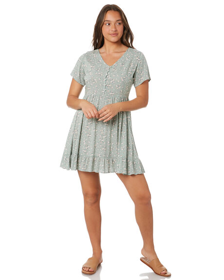 GREEN WOMENS CLOTHING ALL ABOUT EVE DRESSES - 6486014GRN