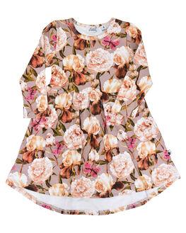 FLORAL KIDS GIRLS KISSED BY RADICOOL DRESSES + PLAYSUITS - KR0940FLR