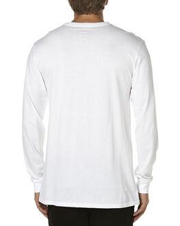 WHITE MENS CLOTHING VOLCOM TEES - A3611676WHT