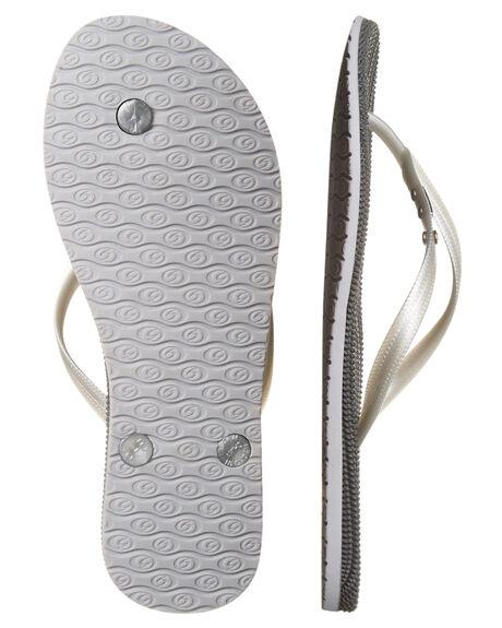 SILVER WOMENS FOOTWEAR RIP CURL THONGS - TGTCD90544
