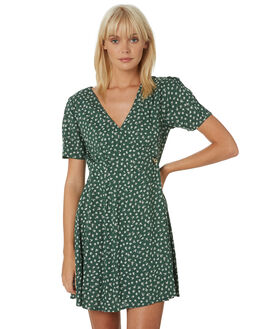 GREEN WOMENS CLOTHING VOLCOM DRESSES - B1331906GRN