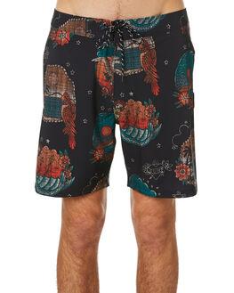 BLACK MENS CLOTHING HURLEY BOARDSHORTS - CI2637010