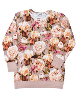 FLORAL KIDS GIRLS KISSED BY RADICOOL JUMPERS + JACKETS - KR0934FLR
