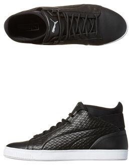 BLACK WHITE MENS FOOTWEAR PUMA SNEAKERS - 36255-902