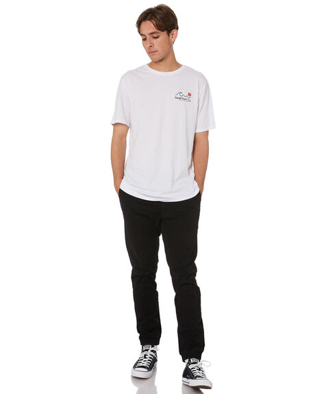 WHITE MENS CLOTHING SWELL TEES - S5212000WHT