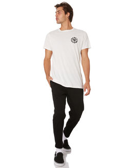 DIRTY BLACK MENS CLOTHING BANKS PANTS - PT0057DBLK