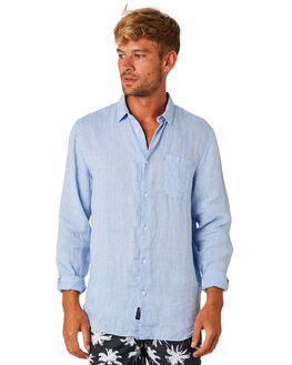 CHAMBRAY MENS CLOTHING ACADEMY BRAND SHIRTS - BA802CHAMB