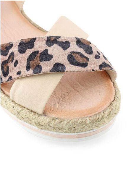 PINK WOMENS FOOTWEAR BUENO FASHION SANDALS - ASTROCAMEOLEOP