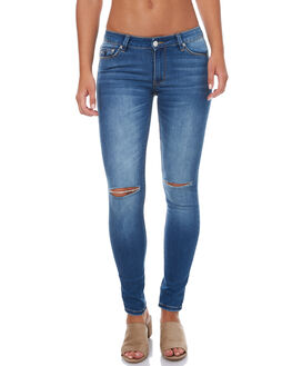 77 CREEPER WOMENS CLOTHING RES DENIM JEANS - RW058077C77C
