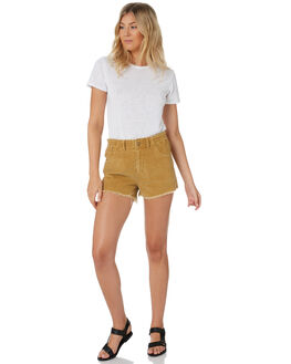 TAN WOMENS CLOTHING SWELL SHORTS - S8203231TAN