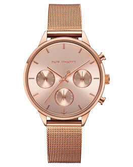 ROSE GOLD MENS ACCESSORIES PAUL HEWITT WATCHES - PH-E-R-RS-4SRGLD