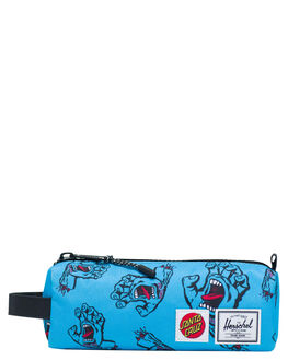 SANTA CRUZ BLUE KIDS BOYS HERSCHEL SUPPLY CO OTHER - 10071-02573-OSSCB