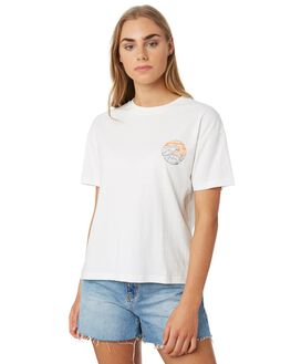 EGRET WOMENS CLOTHING RIP CURL TEES - GTECK29487