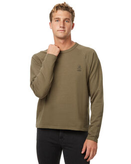 MUD GREEN MENS CLOTHING CHEAP MONDAY JUMPERS - 0443390MGRN