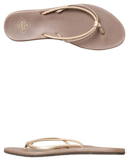CHAMPAGNE WOMENS FOOTWEAR FREEWATERS FASHION SANDALS - WO-037CHAMP