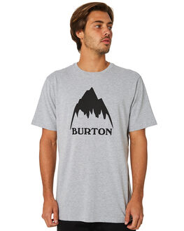 GRAY HEATHER MENS CLOTHING BURTON TEES - 20377100021GRYHT