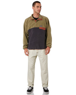 SAGE KHAKI MENS CLOTHING PATAGONIA JUMPERS - 25580SKA