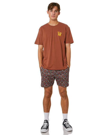 MAROON OUTLET MENS THE CRITICAL SLIDE SOCIETY BOARDSHORTS - BS2024MRN