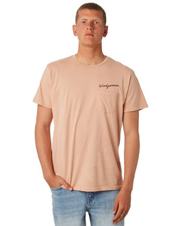 BLUSH MENS CLOTHING MOLLUSK TEES - MSS1629BLSH