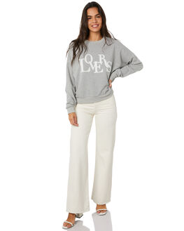 GREY WOMENS CLOTHING MINKPINK JUMPERS - MP1909002GMARL