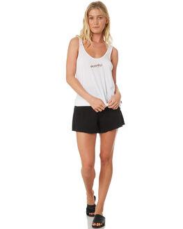 WHITE WOMENS CLOTHING HURLEY SINGLETS - AQ4532-100