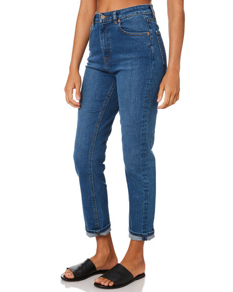 HARBOR BLUE WOMENS CLOTHING VOLCOM JEANS - B1911806HRB