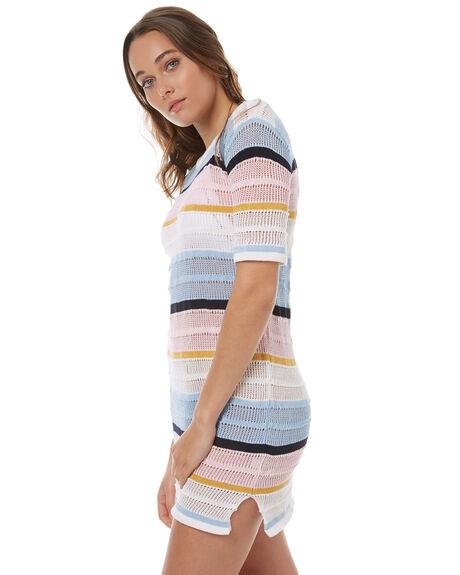 PINK MULTI WOMENS CLOTHING LILYA DRESSES - FK06-PM-LSP17PNK