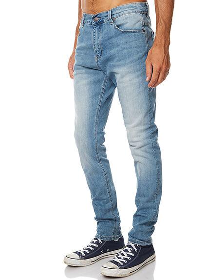 BLUE STONER MENS CLOTHING ZIGGY JEANS - ZM-1164BLUST
