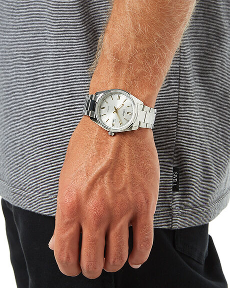 SILVER MENS ACCESSORIES CASIO WATCHES - MTP1302D-7A2