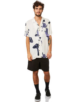PURPLE MENS CLOTHING MISFIT SHIRTS - MT093401PURP