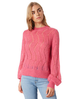 HOT PINK WOMENS CLOTHING ROLLAS KNITS + CARDIGANS - 134165213