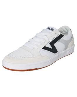 WHITE MENS FOOTWEAR VANS SNEAKERS - VN0A4TZYVTWWHT