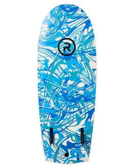 WHITE BLUE RESIN BOARDSPORTS SURF RANDOM SOFTBOARDS SOFTBOARDS - CLSSSH54WHIB