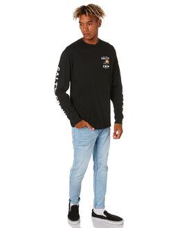 BLACK MENS CLOTHING SALTY CREW TEES - 20135198ABLK