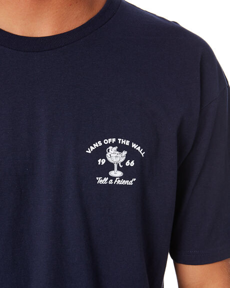 NAVY DEWBERRY MENS CLOTHING VANS TEES - VNA49L2NVY