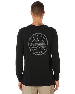 BLACK MENS CLOTHING DEPACTUS TEES - D5193101BLACK